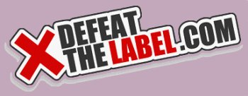 X defeat the label