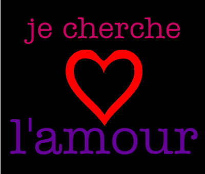 Je cherche le vrai amour [PUNIQRANDLINE-(au-dating-names.txt) 36