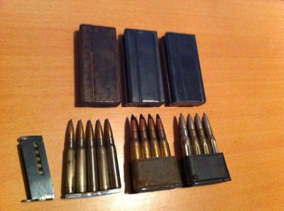 differents chargeurs usm1 garand mab ect ...