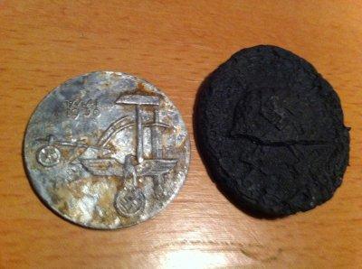 objets medailles decorations de travail et de blesser