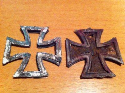croix allemande de fouiles