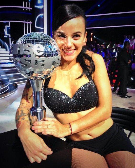 TELEVISION/EMISSION : Alizée, Gagnante de danse avec les stars 4