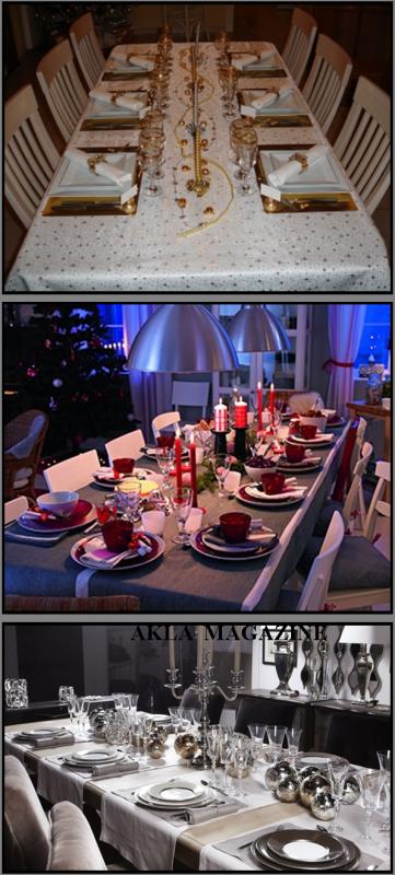 CUISINE/SOCIETE : Noël - Les astuces pour réussir sa soirée