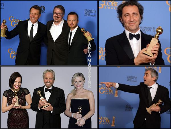 CULTURE/TELEVISION : Golden Globes 2014 côté télévision (Séries)