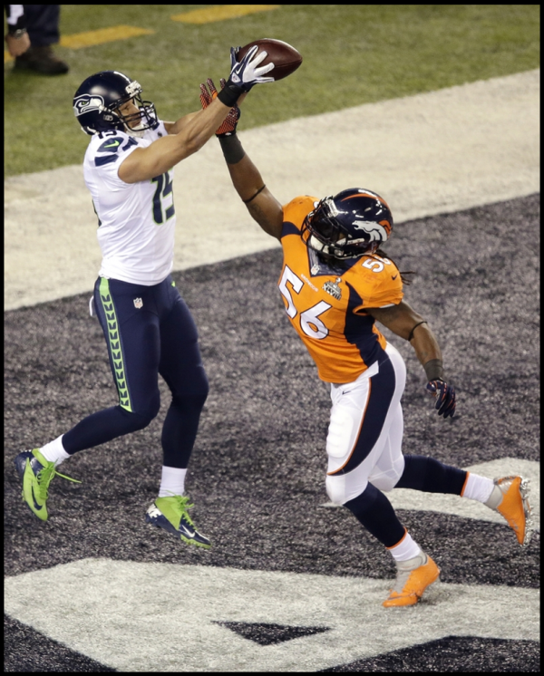 SPORT/SUPER BOWL : Les Seahawks de Seattle humilient les Broncos de Denver
