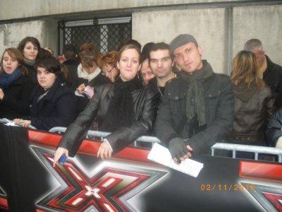 Casting de X Fator le 2/11/2010 a lyon