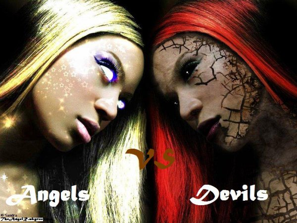 Angels VS Devils In TheAngelR's Blog