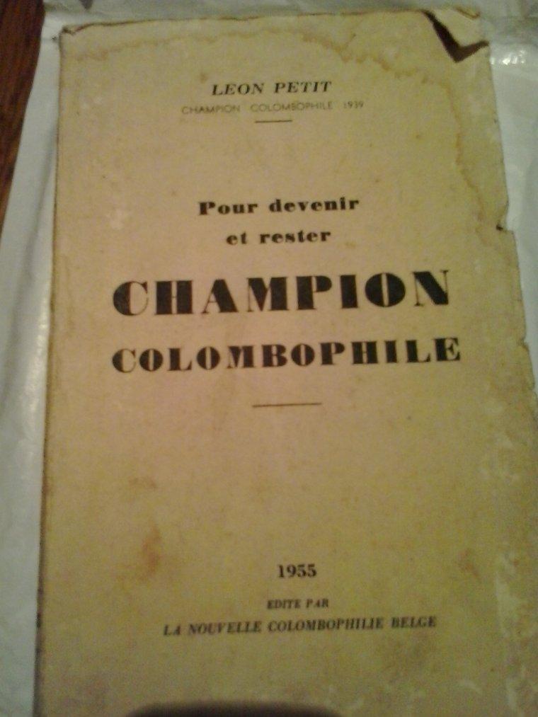 Un colombophile doit lire beaucoup!