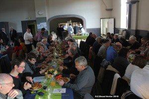 Repas-Vente du Groupement du Douai le 24/2/18