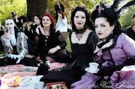 En Mode Gothique Punk