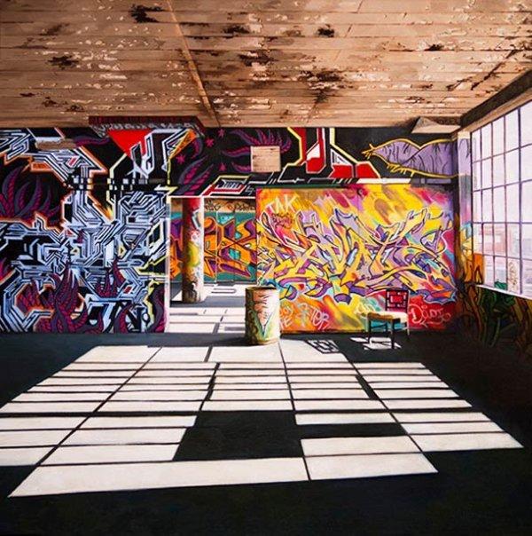 Les peintures ultra-réalistes de Jessica Hess