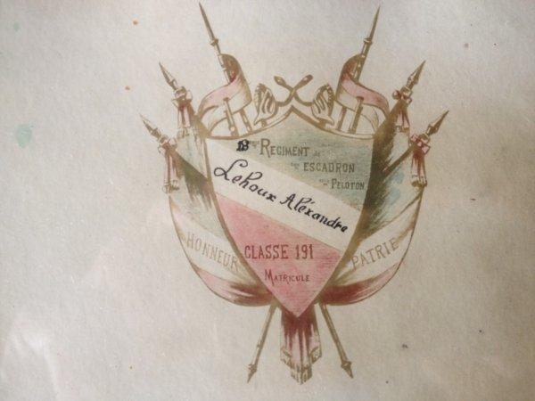 Les armes du 18 ème régiment