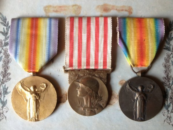 Les médaille militaire d'Alexandre Lehoux