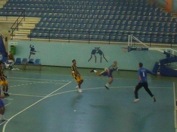 1er match de chompiona neeannaba 31-22 IRBouteldja