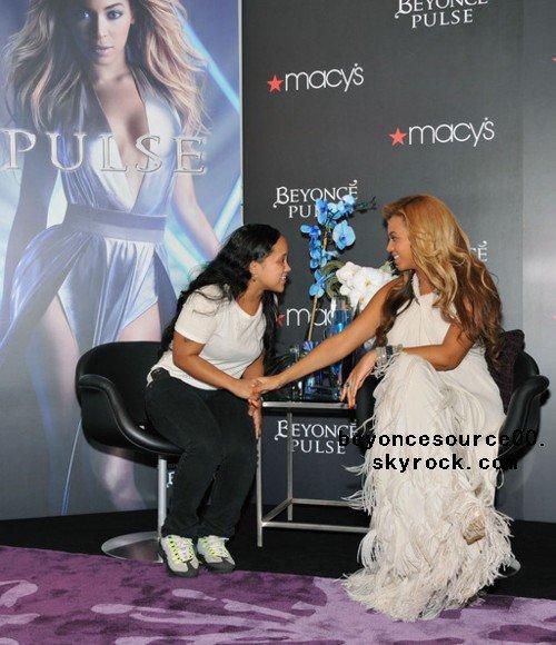 Beyonce présente Pulse a ses fans