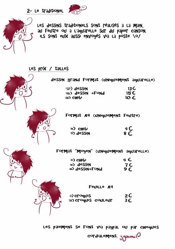 COMMANDES DE DESSINS \o/