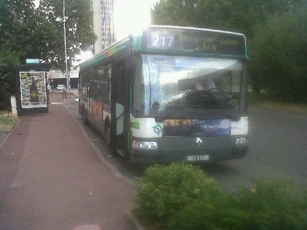 la 2836 ex spx creteil sur le 217 agora s euro 2