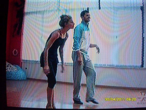 Shpati Isida gjatë provave ne Dancing With The Stars