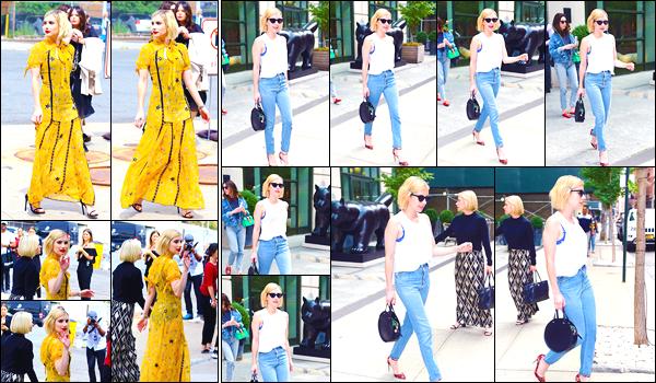 - '-12/09/17-' ◘Emma Roberts s'est rendue au défilé de la marque Coach, lors de la Fashion Week, à NY, TOP ! Ensuite notre jolie blondinette a été aperçue lorsqu'elle quittait son hôtel. Pour finir la journée, elle s'est rendue au show de Seth Myers. -