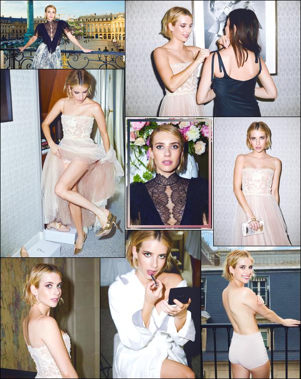 ▬ Découvrez un photoshoot de notre Emma; d'Hugues Laurent pourCR Fashion Book!
