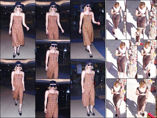 - '-14/12/17-' ◘Voila que le séjour de notre blonde à Miami aura été court, en effet elle a été vue à l'aéroport. Aperçue à l'aéroport de Los Angeles, puis dans les rues de cette dernière, je donne un FLOP à Emma concernant cette tenue, et toi ?! -