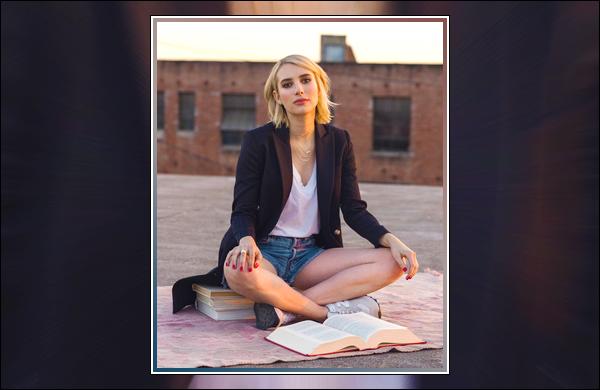 ▬ Découvrez ci-dessous un cliché d'Emma Rose RobertspourBelletrist & New Balance !