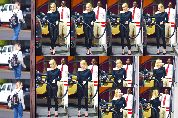 - '-30/01/18-' ◘Emma Roberts a été photographiée durant une séance shopping à Melrose Avenue, Los Angeles. Plus tard, dans la soirée, Emma a été aperçue alors qu'elle faisait le plein d'essence pour ensuite se rendre au restaurant « Delilah », L.A. -