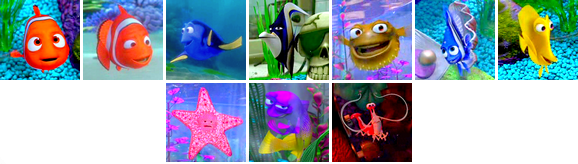 | Le Monde de Nemo | Andrew Stanton & Lee Unkrich