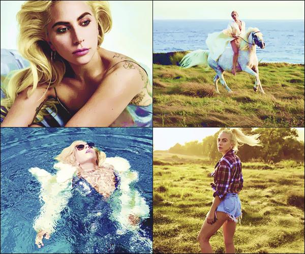 ─ Découvrez le photoshoot de Lady Gaga pour Vanity Fair Italie de ce mois-ci !
