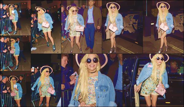 02.12.16 : Lady Gaga a été photographiée quittant la discothèque Tape dans Londres !