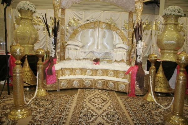 trone oriental pour mariee - Trone Mariage Oriental