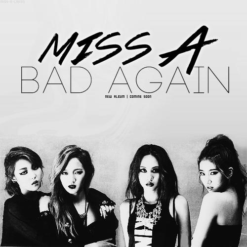 Comeback des miss A prévue pour le mois de Novembre