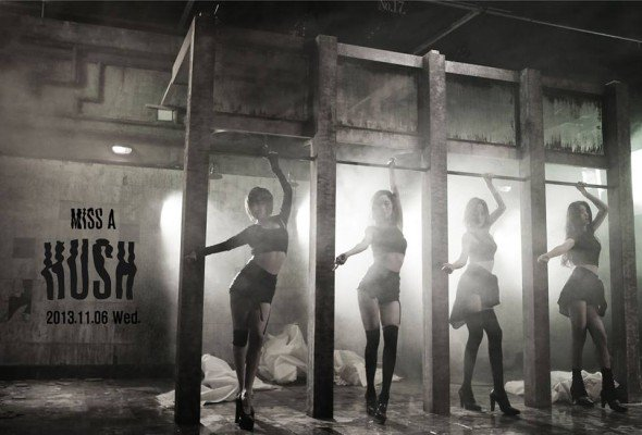 "miss A photo teaser "" Hush """