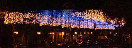 La decoración navideña en España