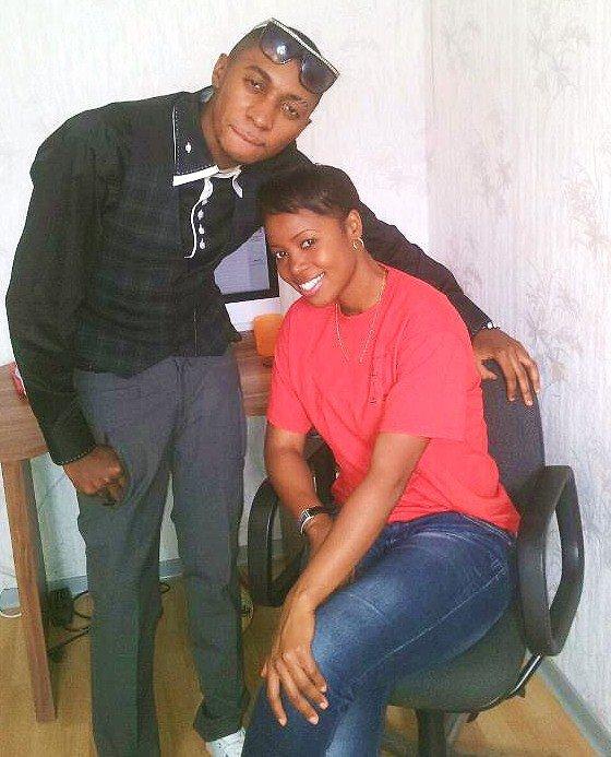 Fr Mercisse et Ya Sandra mbuyi au studio.