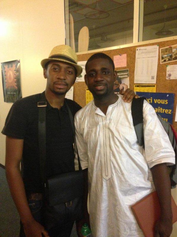 Frère Athom's Mbuma & Frère Mercisse Elonga ! Les Serviteurs de Dieu