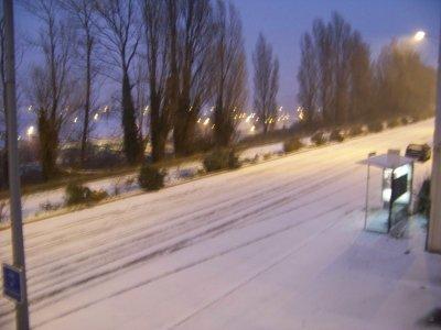 boulogne sous la neige