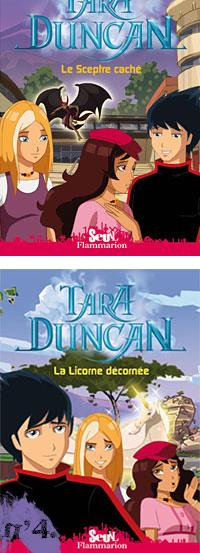 Tara Duncan, d'après les épisodes du dessin animé, en livre !