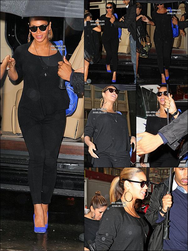 Beyoncé se rendant encore et encore à son bureau à New-York le 19 et 20 octobre 2011.