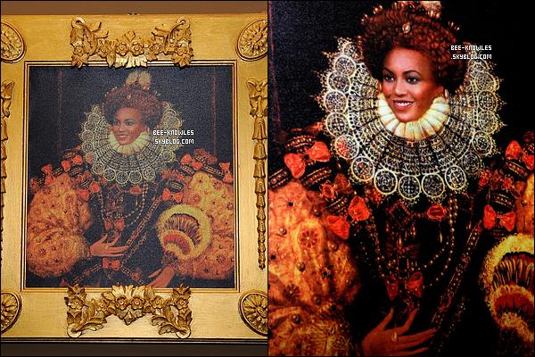 """09/11/11: La sexy mama Beyoncé quittant comme d'habitude un immeuble de bureaux hier soir à NY. (+) Une peinture faite par « MTV » . Elle a été exposée à l'hôtel Merchant à Belfastat lors du dinner pour les « MTV Voices ».    _____Mary. J Blige parle de « Love A Woman » en duo avec Beyoncé  Mary J. Blige a révélé l'origine de la chanson « Love A Woman »  qui sera sur son nouvel album """"My Life II...The Journey Continues (Act 1)"""" qui sort le 21 novembre. « Nous n'avons pas eu la chance de travailler ensemble en studio. La chanson vient de Beyoncé, elle me l'a donné et me l'a envoié via son staff. Il n'y avait que elle qui chantait sur cette chanson, alors je me suis demandé ce que ça voulait dire, est-ce que c'était pour moi car cette chanson est dingue. Elle m'a dit que c'était pour moi, et je leur ait demandé pourquoi elle ne voulait pas la garder pour elle. Ils m'ont dit qu'elle voulait rester sur la chanson. Je me suis dit """"cool !"""" ça ne peut pas mieux tomber ! J'adore Beyoncé... elle m'a inspiré. C'est une bénédiction de l'avoir sur le titre. »"""