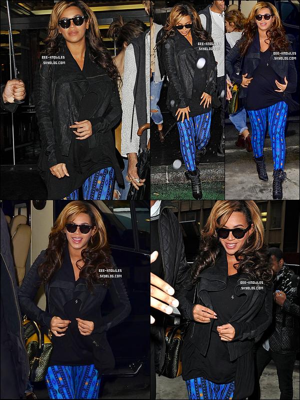 29 Novembre 2011: Beyoncé s'est rendu dans un bureau à New-York. Préparerait-elle quelque chose ?