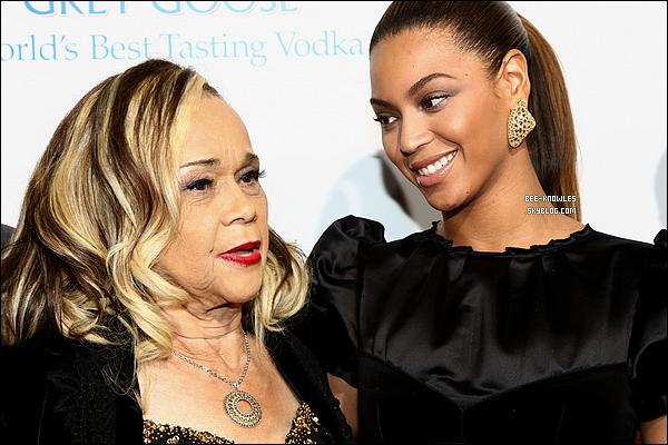 Beyoncé rend hommage à Etta James en publiant en communiqué sur son site officiel.  Etta James, grande icône de la soul est décédée vendredi 20 janvier 2012 des suites d'une leucémie à 73 ans.
