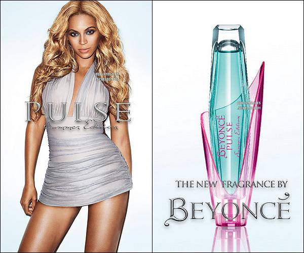 Voici les premières photos du prochain parfum de Beyoncé qui devrait sortir cet été.