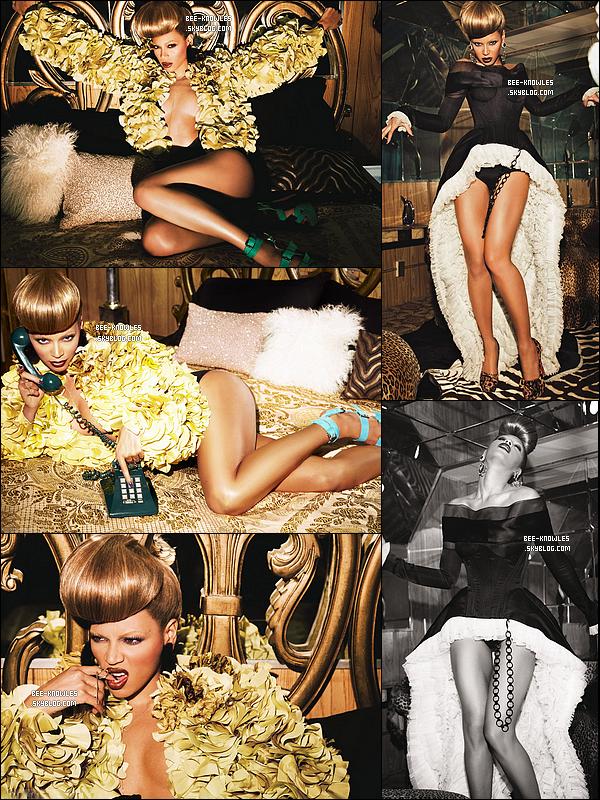(Re)découvrez le photoshoot de Beyoncé fait par Ellen Von Unwerth pour l'album « 4 ». (Part II)
