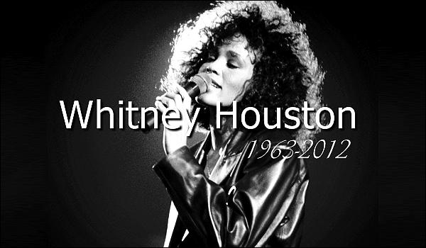 Beyoncé à réagit sur le décès de Whitney Houston en laissant un message sur son site.  Surnommée « La Voix » de la pop et de la soul, Whitney Houston s'est éteinte le 11 février 2012 à 48 ans. R.I.P