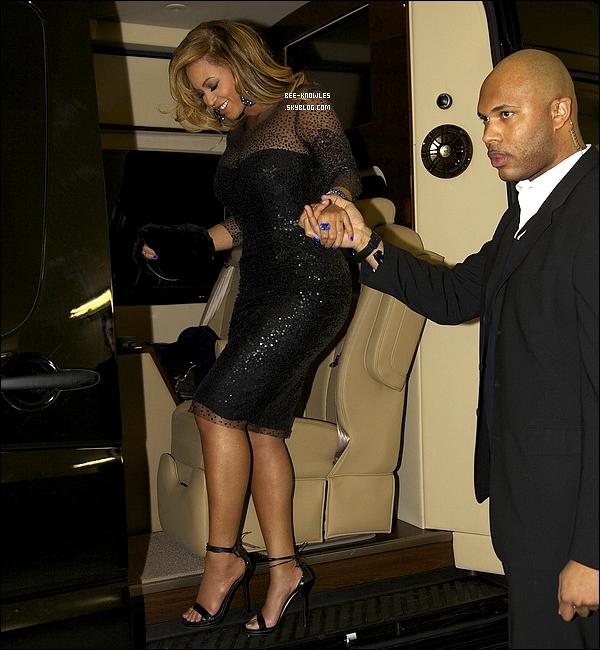 07/02/2012 : Queen Beyoncé a assisté hier soir au deuxième concert de Jay-Z, donné au Carnegie Hall à N.Y.