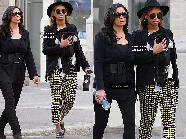 12/03/11:  Maman Beyoncé en promenande avec Blue Ivy accompagné de grand-mère Knowles à NY.  + D'après le site ThatGrapeJuice, Beyoncé aurait déjà tourné le clip de « End Of Time » qui serait le dernier single de l'ère 4. Ce serait un clip à grand budget et l'un de ses meilleurs. Elle sera envoyée cette semaine aux radios au Royaume Uni et aux USA.