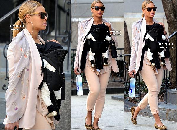 13/03/11 :  Beyoncé.K a été aperçue une fois de plus dans les rues New Yorkaises avec Blue Ivy.  + Rumeur: Tom Cruise dans « A Star Is Born » aux côtés de Beyoncé ? Il jouerait le rôle d'un vieux musicien qui tombe amoureux d'une chanteuse plus jeune, jouée par Beyoncé, qu'il essaye de transformer en star. Cela reste à confirmer !