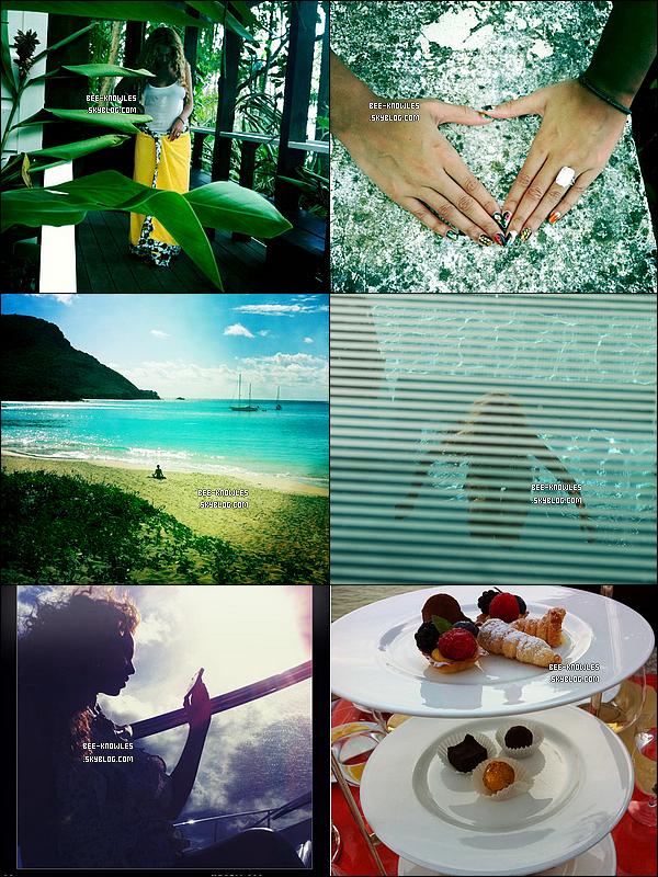 Beyoncé a partagé 7 nouvelles photos de ses vacances sur son compte Tumblr. Enjoy !