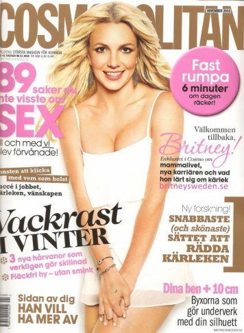Cosmopolitan Suède - Novembre 2010 ;)